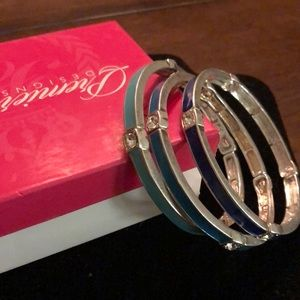 Ombré bracelets